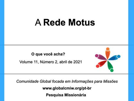 A Rede Motus Dei e as pessoas focadas em informações para missões