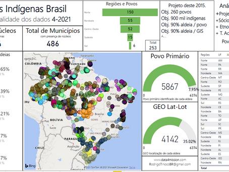 O desafio de mapear localidades indígenas e quilombolas.