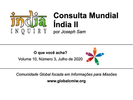Consulta Mundial Índia II - 2021