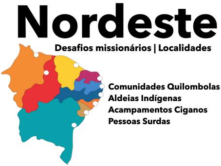 2019 Nordeste - Localidades