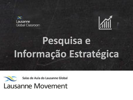 Pesquisa e Informação Estratégica