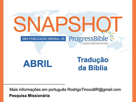 Tradução da Bíblia - Dados ABRIL