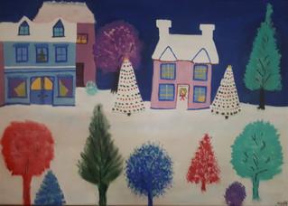 Christmas Card Village