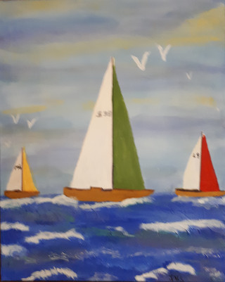 Three Sails for Sale