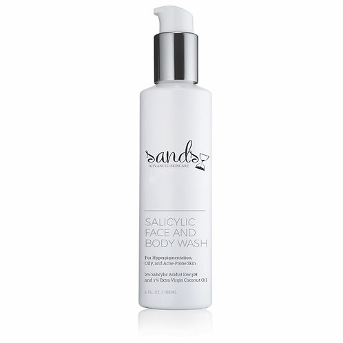 Sands Salicylic Face and Body Wash