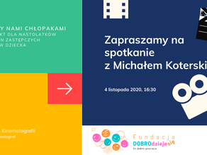 PRZEKŁADAMY TERMIN! Między nami chłopakami - Spotkanie inaugurujące z Michałem Koterskim.