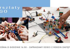 Warsztaty LEGO dla dzieci z rodzin zastępczych