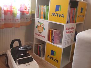 Dzięki Fundacji Zaczytani.org i Fundacji DOBROdzieje Zaczytana Biblioteka stanęła w Bułeczce!  📚