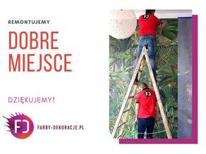 Farby-Dekoracje.pl remontuje z nami DOBRE Miejsce