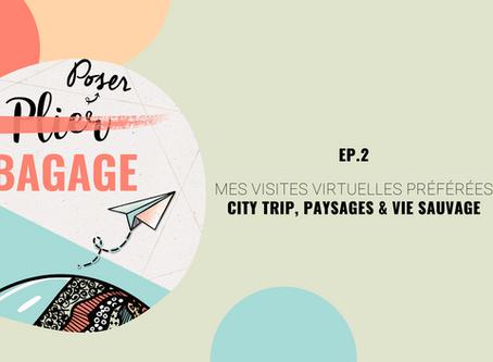 [Poser Bagage 2 ] Mes Visites virtuelles préférées - city trip, paysages & vie sauvage