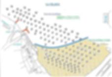 Plan des mouillages du port de Camoel