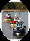bateaux de peche sur la Vilaine