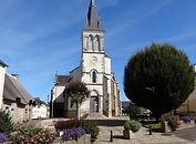Place de l'église de Camoel