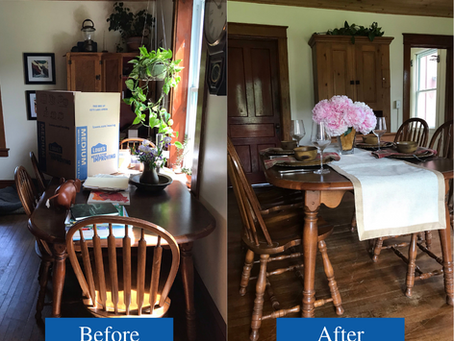 Staged To Sell Client Before & After: Richmond, VT