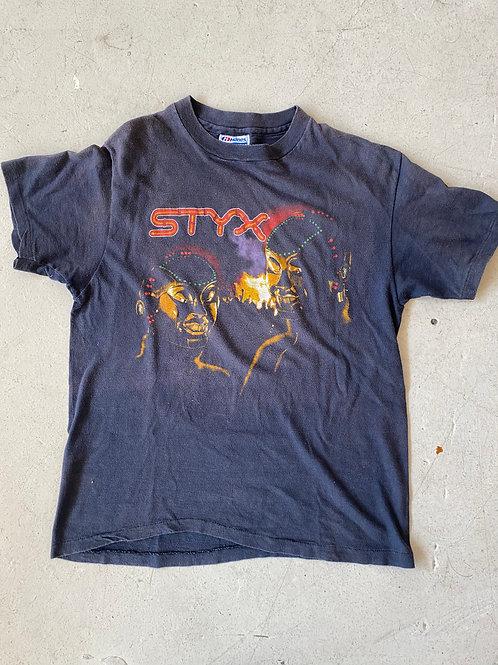 83' STYX tour Tshirt