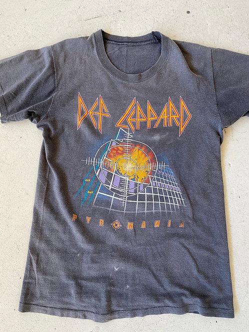 vintage Def Leppard tour T-shirt