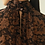 Thumbnail: georgette leaf print dress