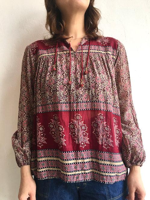 lindian cotton gauze blouse