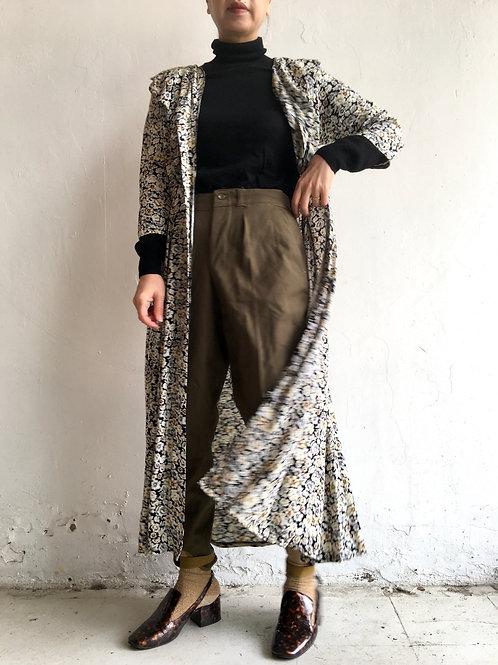 2way 90s rayon floral dress