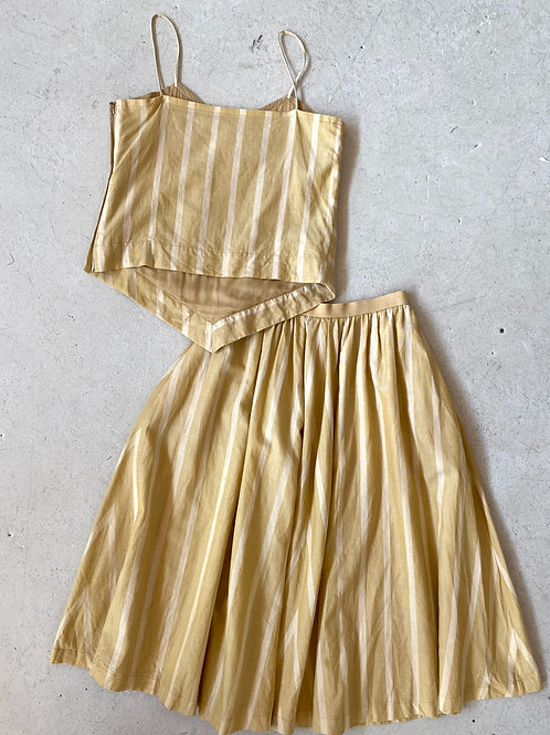Vintage Christian Dior skirt set