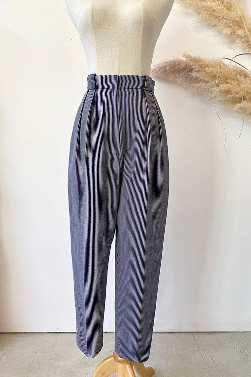 vintage Christian Dior stripe pants