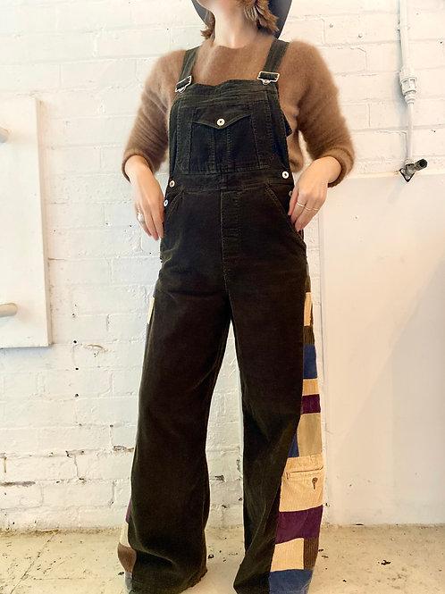 remake corduroy overalls