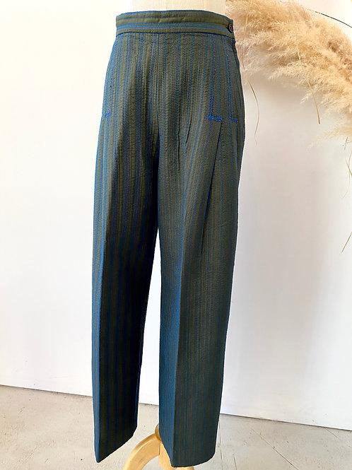 Issey Miyake sashiko pants