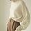 Thumbnail: cashmere wool turtle neck knit