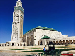 A student's photo of the Hassan II Mosque in Casablanca