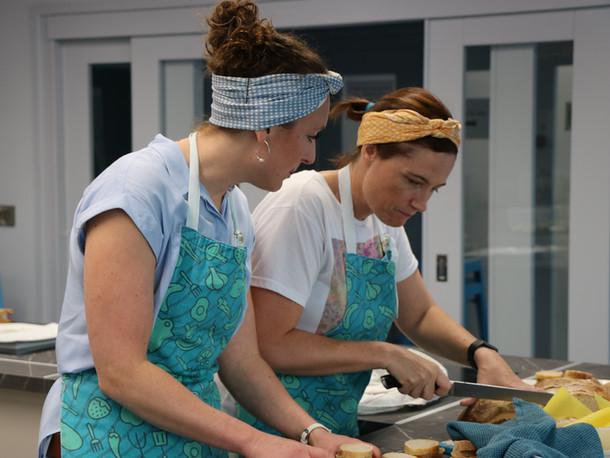 Gourmet Girls at work