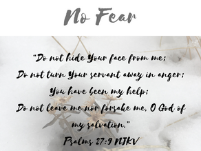 Practicing Patience Over Fear (No Fear Part 3)
