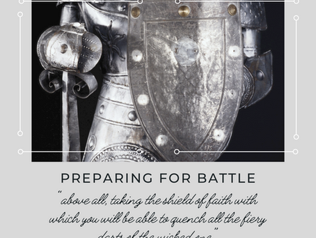 Preparing for Battle Part 3 (Shield of faith)