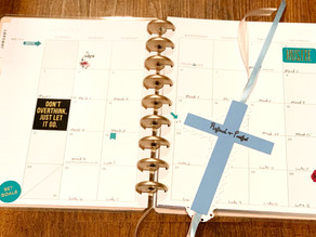 Planning Out My Year. Finding the Perfect Planner