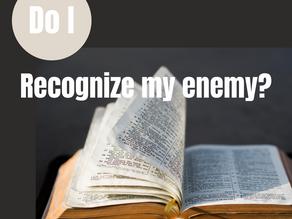Do I recognize my enemy?