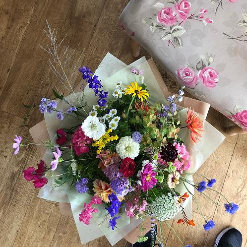 Gift Bouquet British grown flowers