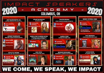 Impact Speaking Event 2020