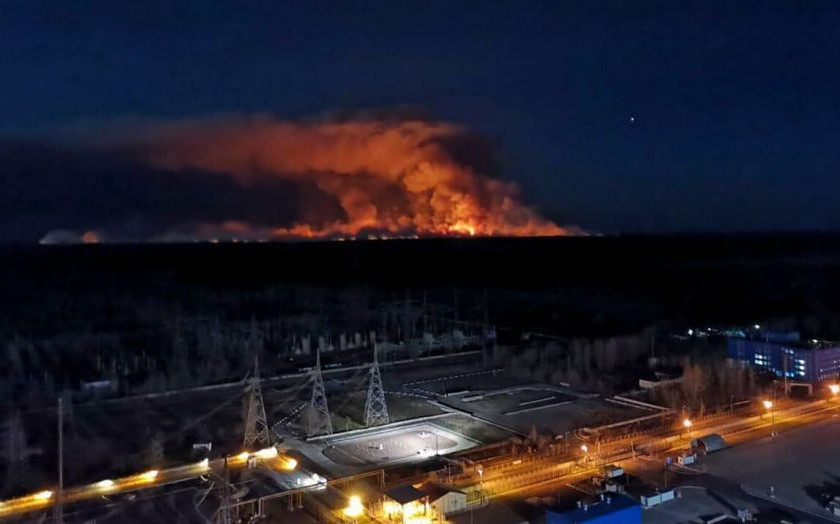 Chornobyl Forest Fires 2020