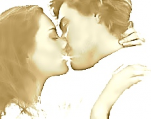 WBOD- Write About A Kiss (excerpt from short story Two Brothers)