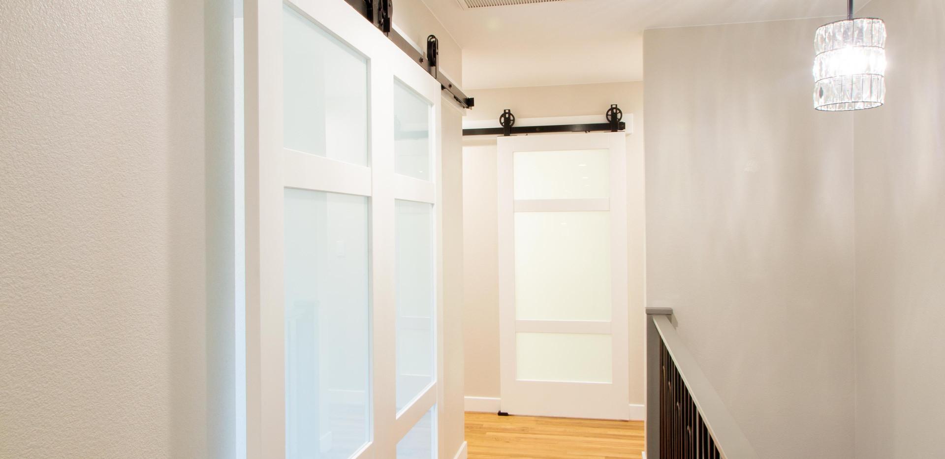 Glass Barn Doors