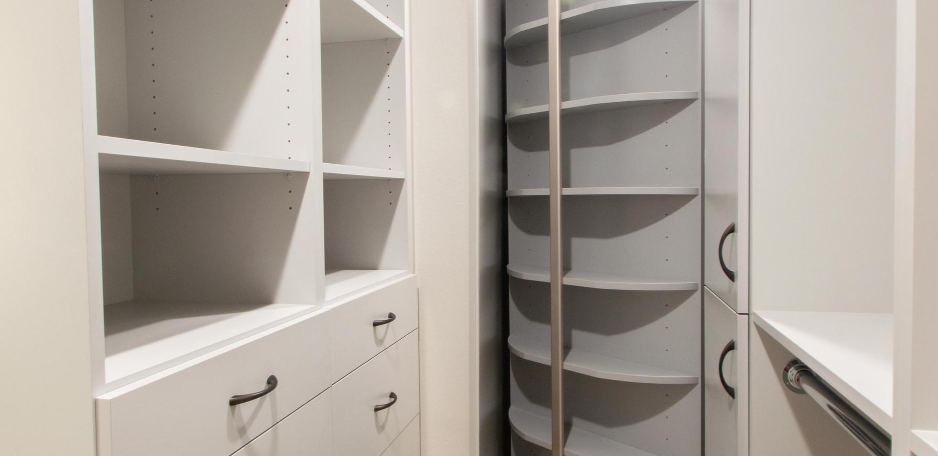 Master Closet & Shoe Spinner