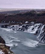 Island: Hraunfossar