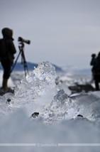 Island: Fotografen on the rocks