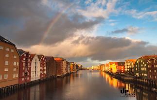 Norwegen: Altstadt