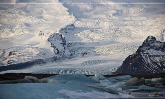 Island: Die Eislagune im Winter