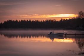 Schweden: Nebelschwaden im Norden