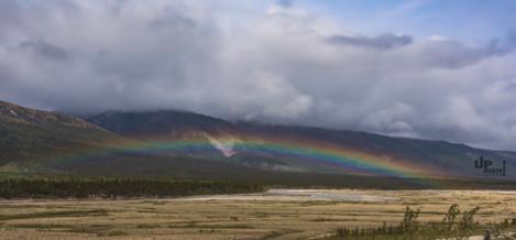 Alaska: Ausblick am Morgen