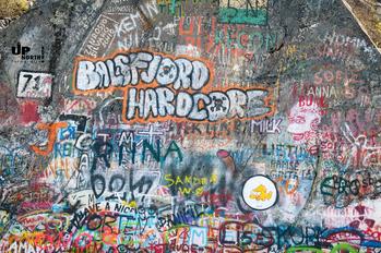 Norwegen: Graffiti im Wechsel der Zeit