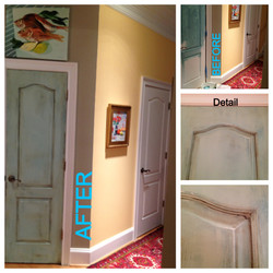 Pantry Door Transformation