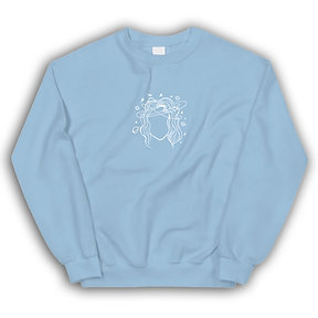 The Messy Head Crewneck