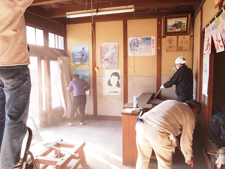 津島ツムギマチ・プロジェクトは空き家のリノベーションや地域の人やコトをつないでまちづくりをすすめています